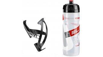 Elite Supercorsa/Paron 21 Trinkflasche/Flaschenhalter-Set
