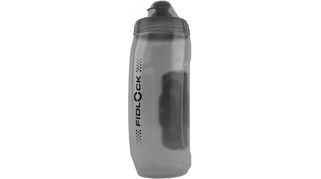 Fidlock Bottle Twist Trinkflasche Logo mit Connector 590ml transparent/black