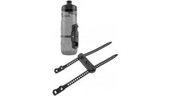 Fidlock Bottle Twist Trinklflasche mit Uni Base und Connector 600ml transparent/black