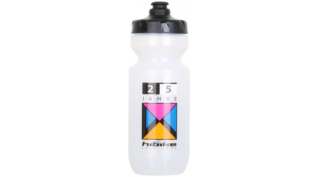 """HIBIKE """"25 Jahre"""" Specialized Purist Trinkflasche 0.65l transparent/schwarz"""