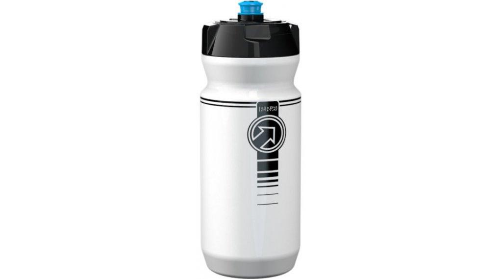 PRO Team Trinkflasche 600ml mit Füllskala white