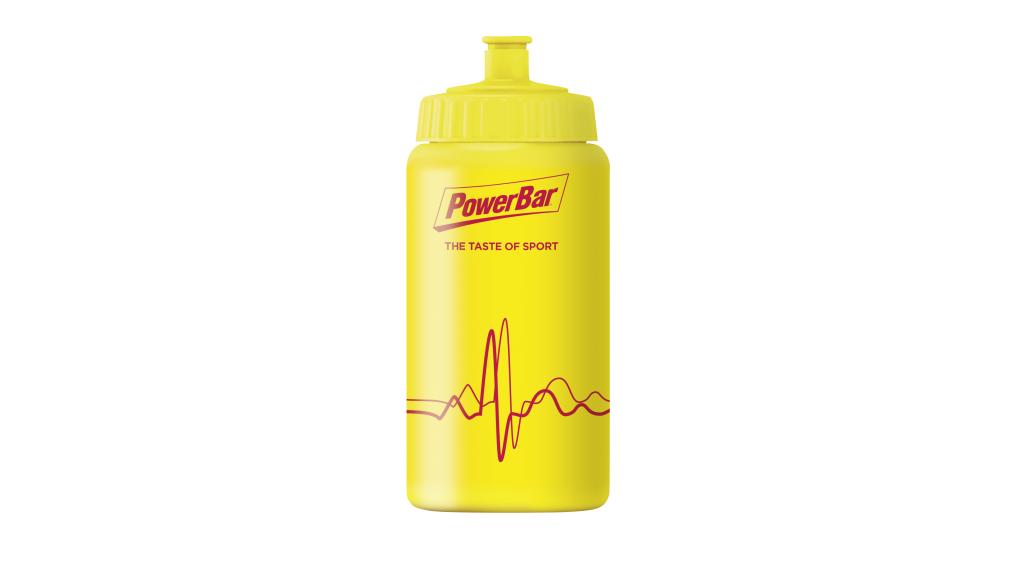 PowerBar Trinkflasche 0.5l gelb/gelb