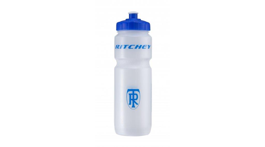 Ritchey Trinkflasche 750ml transparent/blue