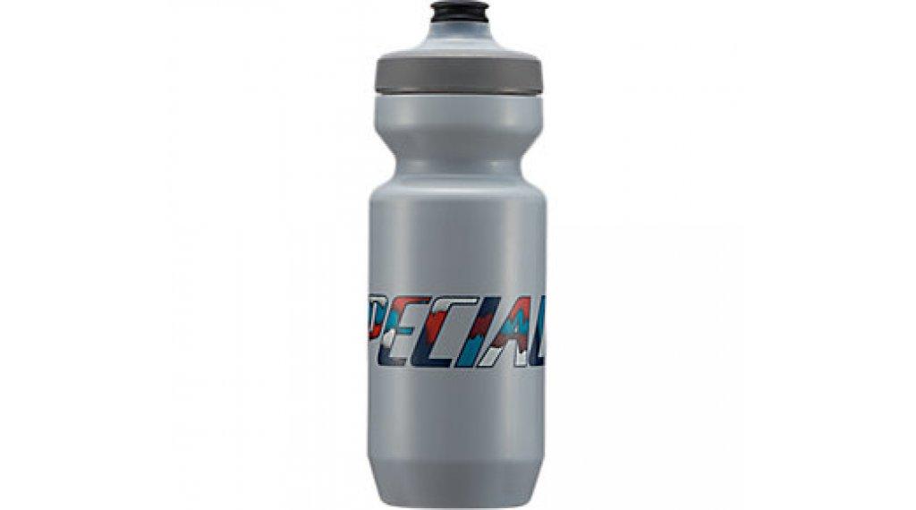 Specialized Purist Watergate Trinkflasche 650ml ash papercut