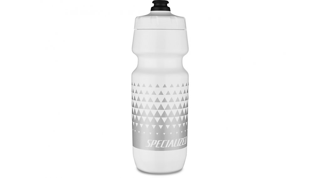 Specialized Big Mouth Trinkflasche 710ml white/metallic silver