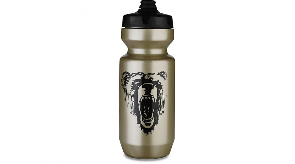 Specialized Purist Fixy water bottle 600ml gold/black california bear