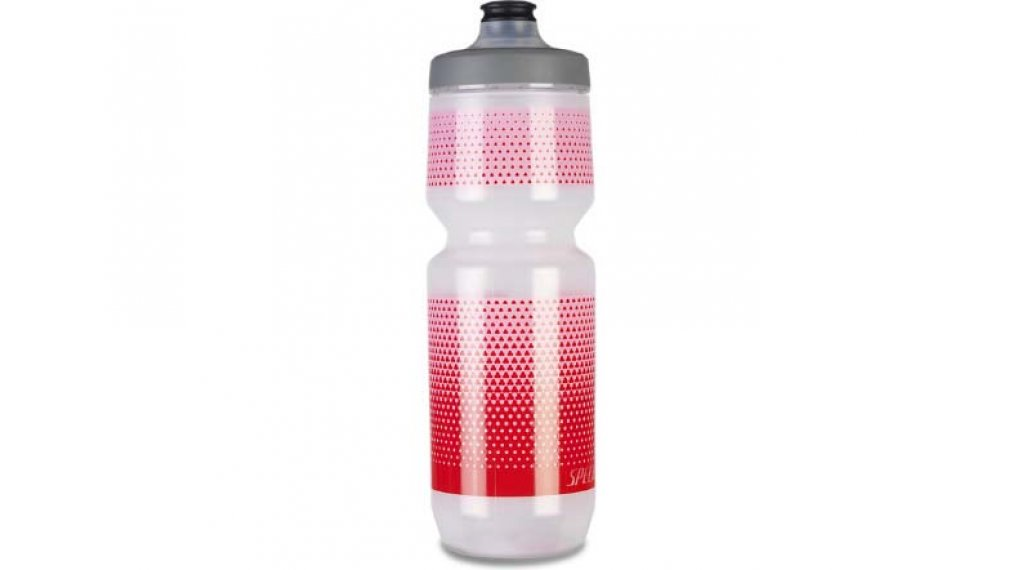 Specialized Purist Watergate Trinkflasche 650ml translucent/lavas hex