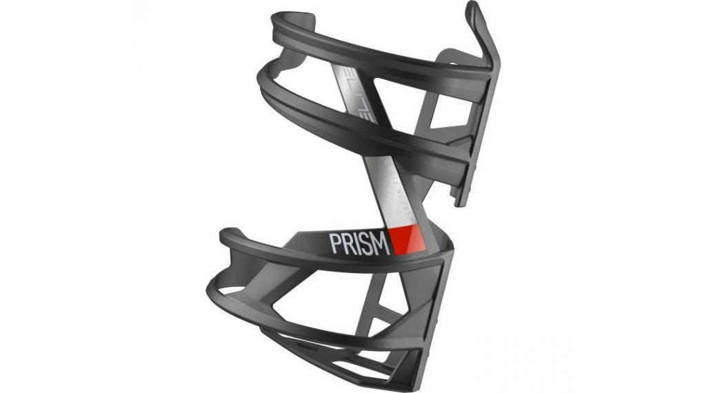Elite Prism Carbon Flaschenhalter Öffnung links matte black/red