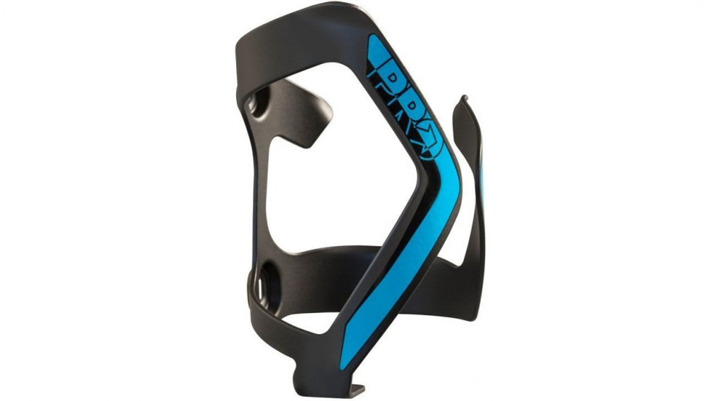 PRO leftside Flaschenhalter Aluminium black/blue