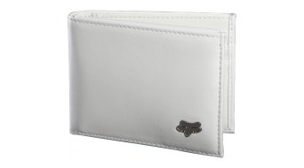 FOX Bifold leather purse men- purse Wallet white