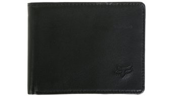 FOX Bifold leather purse men- purse Wallet black