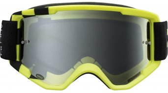 Bell Descender Goggle matte hi-viz/black podium (silver mirror-lens)
