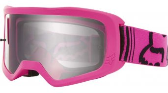 Fox Main Race (Clear-lense) Goggle pink