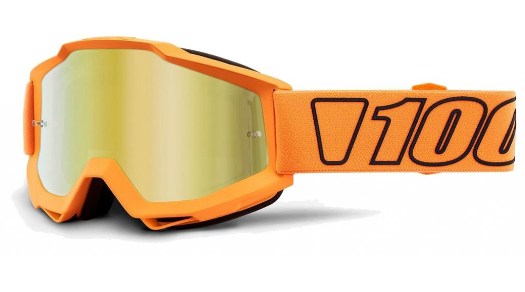 100% Accuri Anti-Fog Mirror Lens Goggle Gr. unisize luminari
