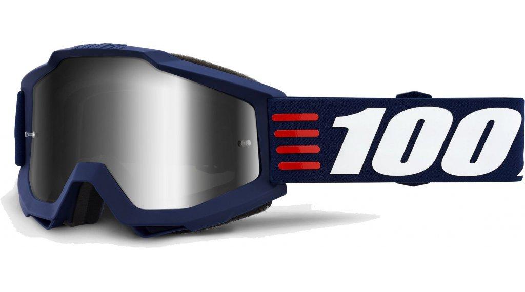 100% Accuri Anti-Fog Mirror Lens Goggle Gr. unisize art deco