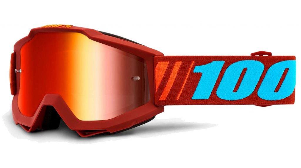 100% Accuri Anti-Fog Mirror Lens Goggle Gr. unisize dauphine