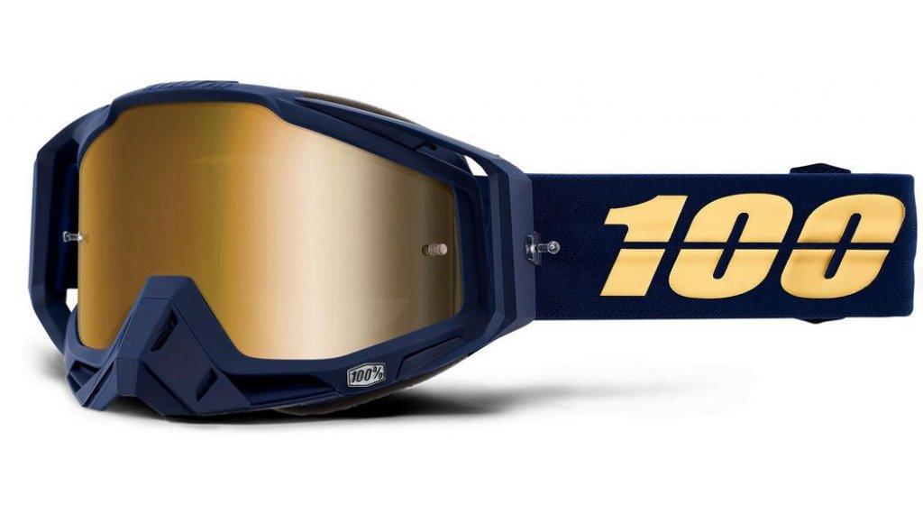 100% Racecraft Goggle bakken (Anti-Fog Mirror Lens)