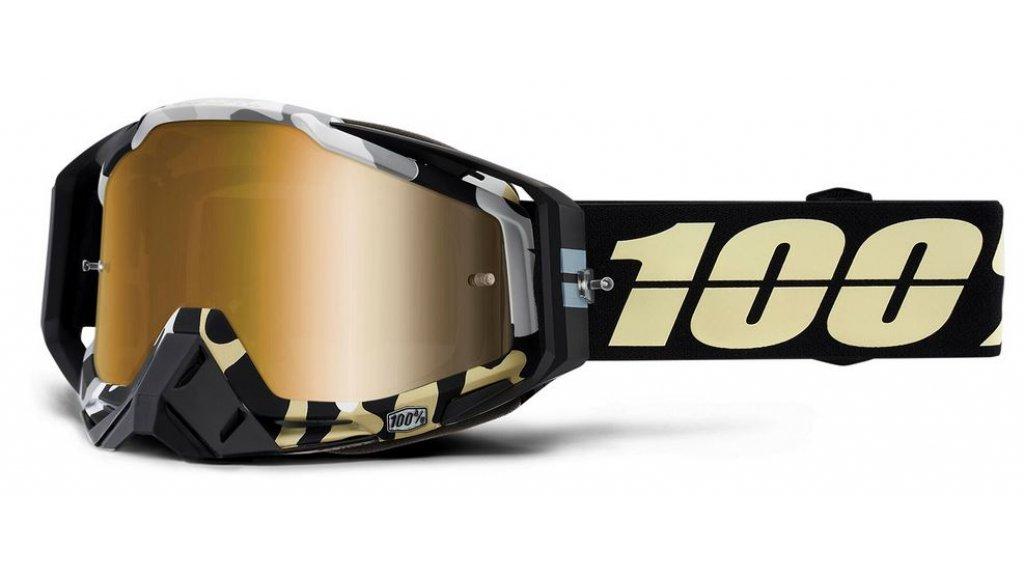 100% Racecraft Goggle Ergoflash (Anti-Fog Mirror Lens)