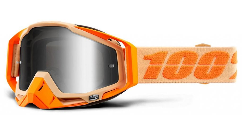 100% Racecraft Goggle Sahara (Anti-Fog Mirror Lens)