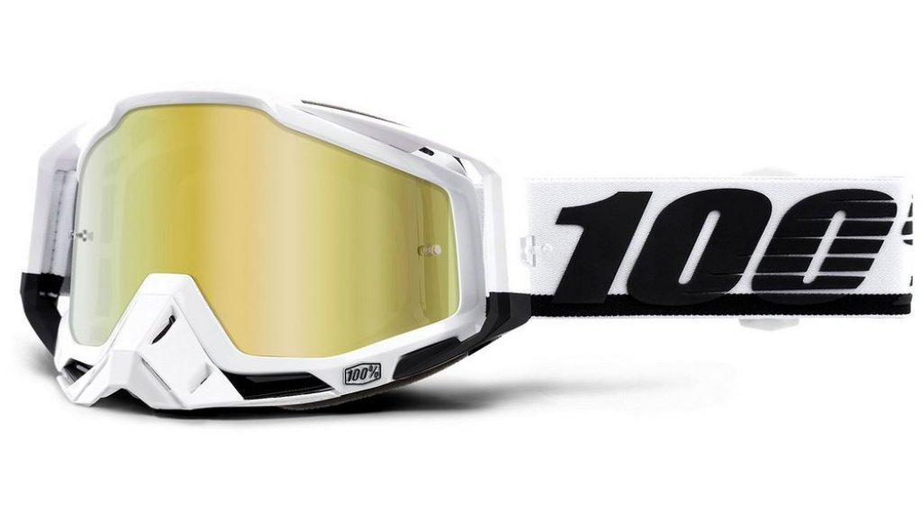 100% Racecraft Goggle Stuu (Anti-Fog Mirror Lens)