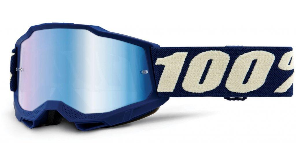 100% Accuri Gen. 2 Kinder/Youth Goggle Gr. unisize deepmarine (Anti-Fog-Mirror-Lens)