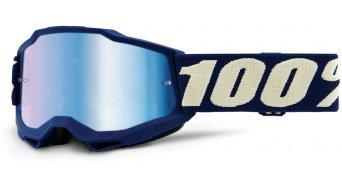 100% Accuri Gen. 2 kids/Youth Goggle size_ unisize _deepmarine_(Anti-Fog-Mirror-Lens)