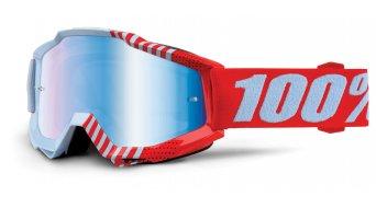 100% Accuri Youth Goggle Kinder-Goggle (Anti-Fog mirror lens)