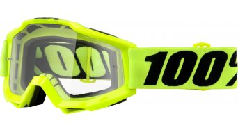 100% Accuri OTG (over the glass ) Goggle for Brillen carrier (Anti-Fog Clear Lens)