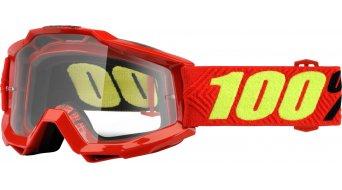 100% Accuri OTG (over the cristal) Goggle para Brillenträger (Anti-Fog Clear Lens)
