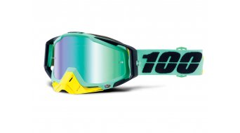 100% Racecraft Goggle (Anti-Fog Mirror Lens)