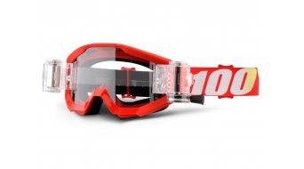 100% Strata Mud/SVS Goggle incl. SVS Roll-Off system