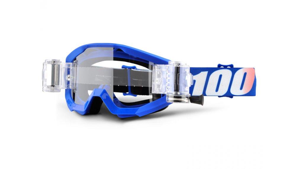 100% Strata Mud/SVS Goggle nation inkl. SVS Roll-Off System