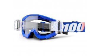 100% Strata Mud/SVS Goggle nation incl. SVS Roll-Off sistema