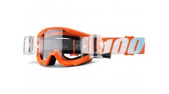 100% Strata Mud/SVS 儿童 Goggle 含有SVS Roll-Off System