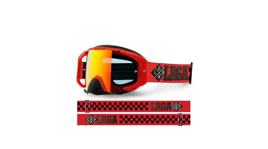 Loose Riders Red Goggle Gr. unisize red