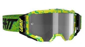 Leatt Velocity 5.5 Goggle Gr. unisize neon lime/light grey (anti fog lense)