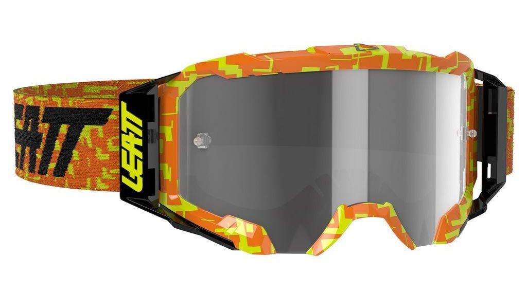 Leatt Velocity 5.5 Goggle Gr. unisize neon orange/ligt grey (anti fog lense)
