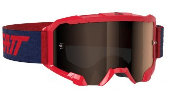 Leatt Velocity 4.5 Iriz Goggle red/platinum (anti fog lense)