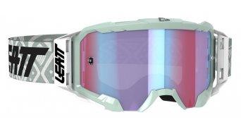 Leatt Velocity 5.5 Iriz Goggle 型号 均码 white/blue (anti fog mirror lense)