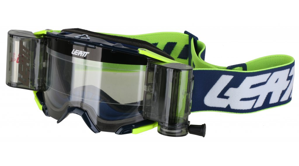 Leatt Velocity 6.5 Goggle Roll-Off ink/white/yellow