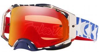 Oakley Airbrake MX PRIZM Goggle Troy Lee Designs Series patriot red white blue/prizm mx torch iridium