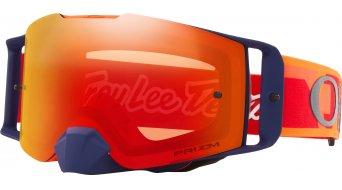 Oakley Front Line MX PRIZM Goggle Troy Lee Designs Series confetti orange red/prizm mx torch iridium