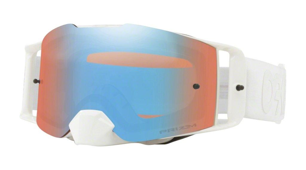 Oakley Front Line MX PRIZM Goggle factory pilot whiteout/prizm mx sapphire
