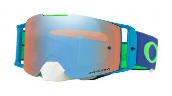 Oakley Front Line PRIZM MX Goggle flo green blue/prizm mx sapphire