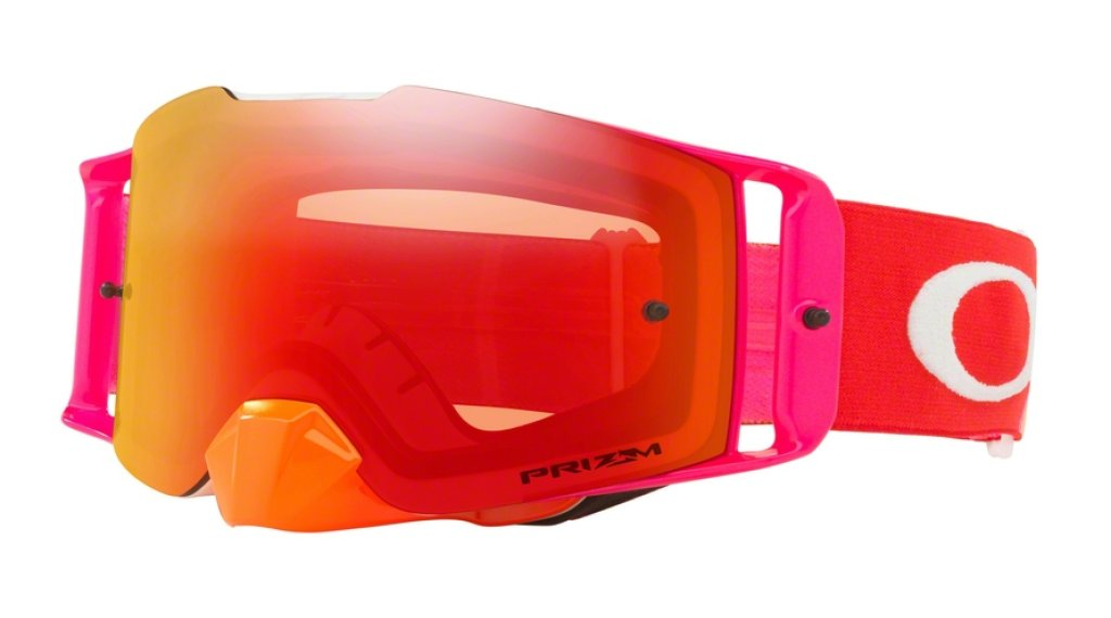Oakley Front Line PRIZM MX Goggle pinned race 橙色 red/prizm mx torch
