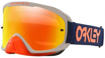 Oakley sin-Frame 2.0 Pro MX Goggle Fatory Pilot Collection rojo azul/fire iridium