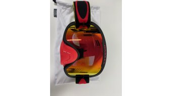 Oakley O-Frame 2.0 PRO MX Goggle Tuff Blocks Collection yellow red/fire red- 样品/演示品