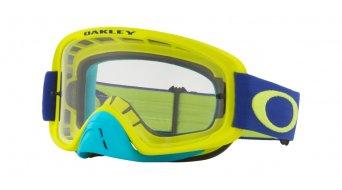 Oakley O-Frame 2.0 MX Goggle flo lime blue/clear