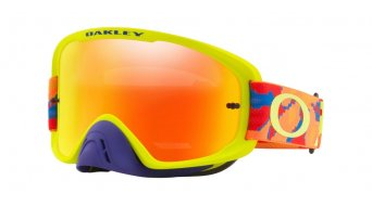Oakley O-Frame 2.0 MX Goggle thermo camo blue/橙色/green/fire iridium