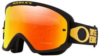 Oakley sin-Frame 2.0 Pro MTB Goggle Troy Lee Designs Series pinstripe amarillo/fire irdium